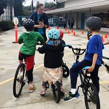 SANDAG iCommute school bike rodeo