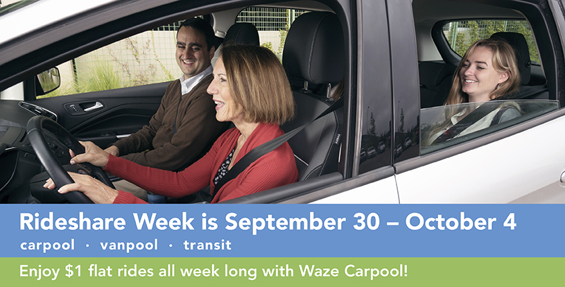 RideShare Week Car